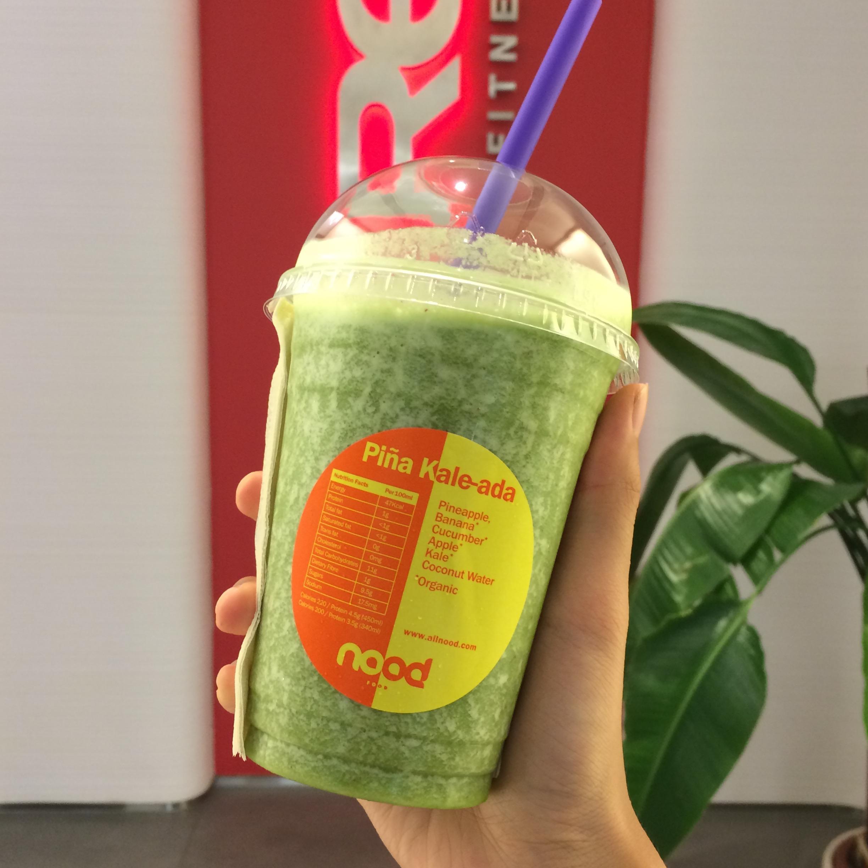 Yum! Green juice!