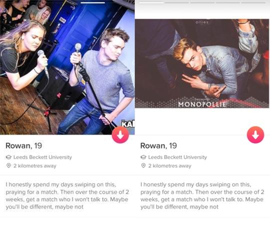 We asked three Leeds girls to review some Leeds boys' Tinder