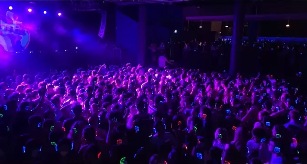 Freshers fill up first Fruity event of the year