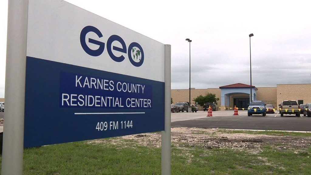 Karnes County Residential Center in Texas has fallen under scrutiny recently for its poor living conditions.