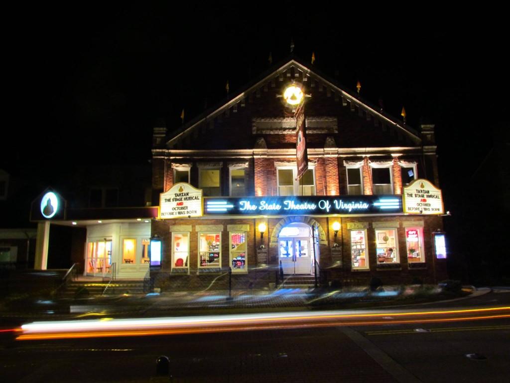 The Barter Theatre. Photo taken by Heath Owens
