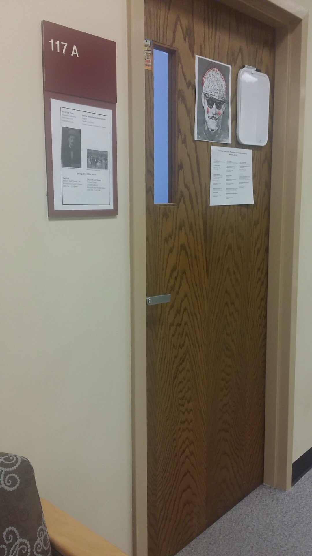 Brian Flota's office