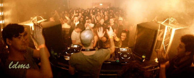 Flashmob running the show at HAUS last year for LDMS