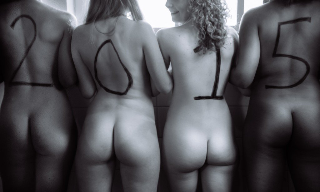 Bum naked