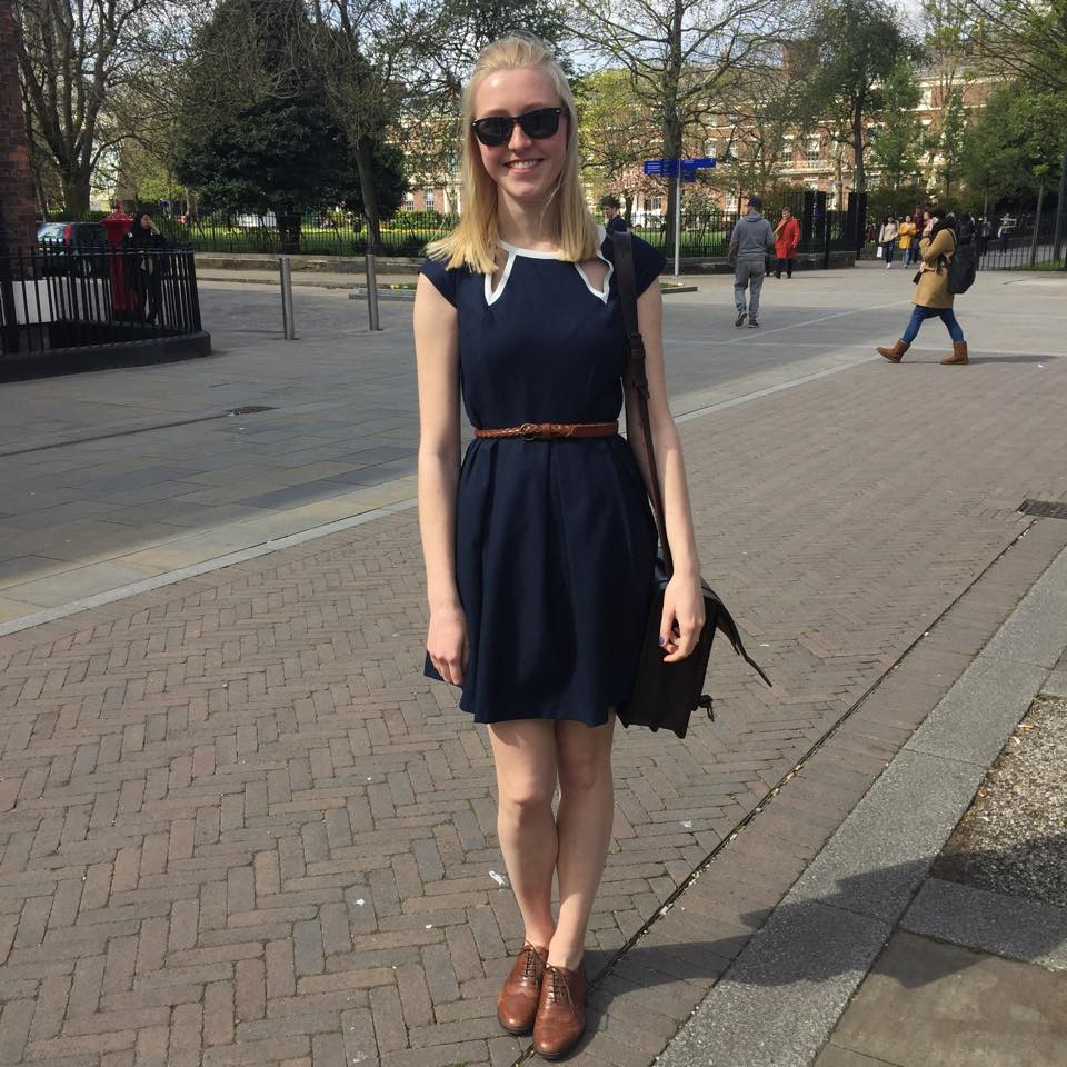 Anniken, first year psychology student.
