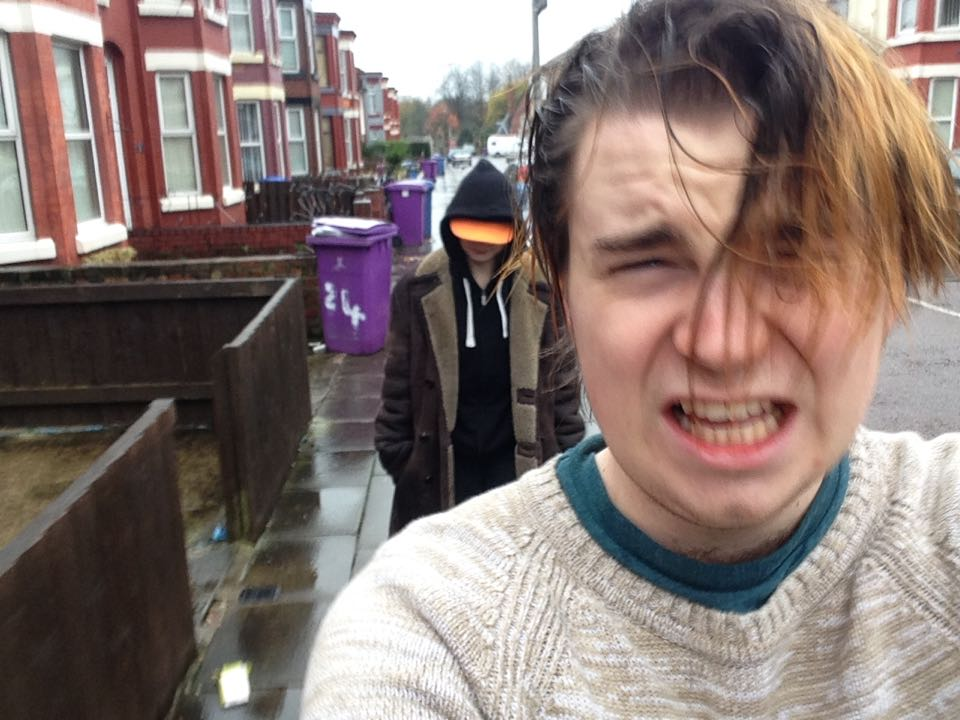Just Smithdown Things: being followed gome by a weirdo