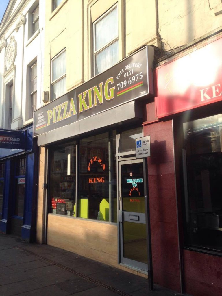 The king of pizzas!