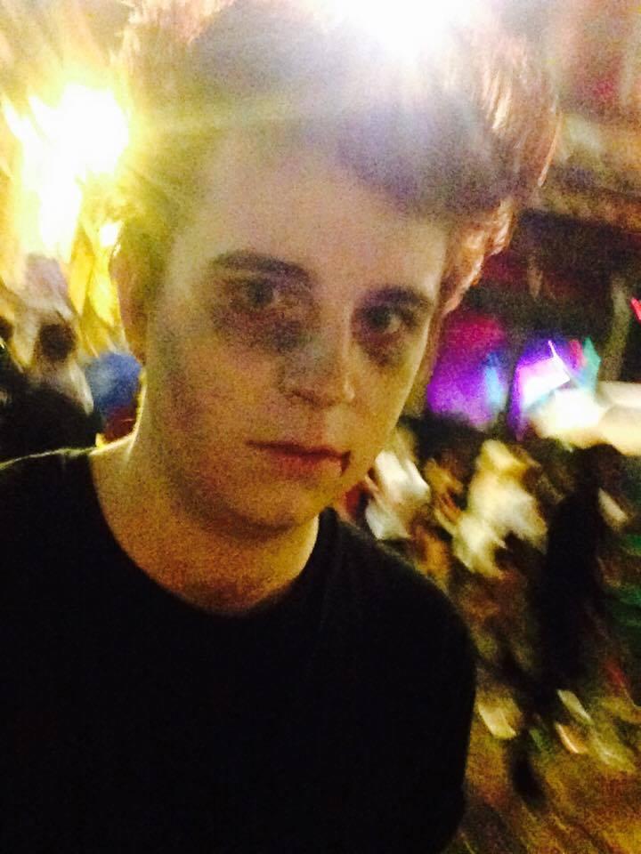 zombie halloween concert square