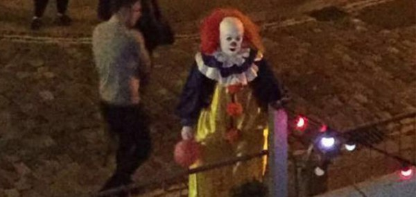 the clowns have also been seen across the UK and America