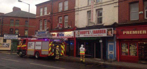 Breaking Fire On Smithdown Road