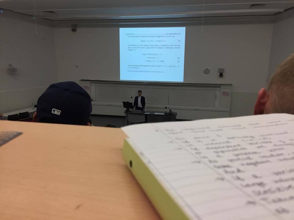 notes economics lecture