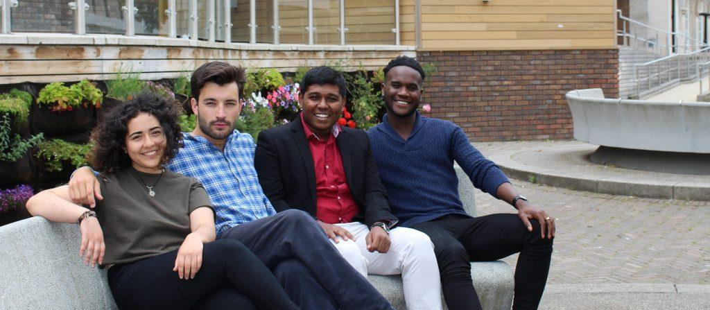 The 2016/2017 student officer team