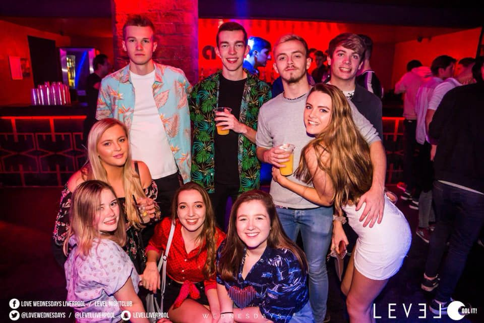 Image may contain: Apparel, Clothing, Dress, People, Leisure Activities, Night Life, Night Club, Club, Person, Human, Party