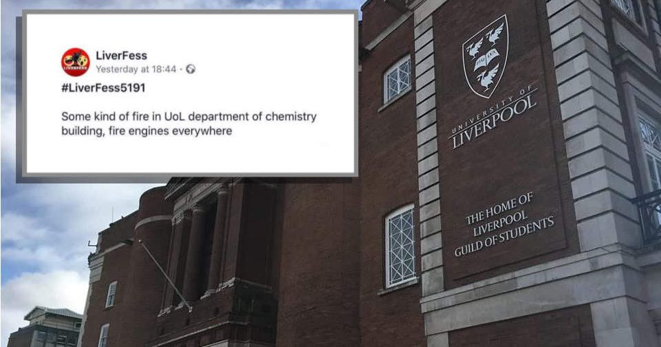 There Has Been A Chemical Leak Outside The Uol Department Of Chemistry