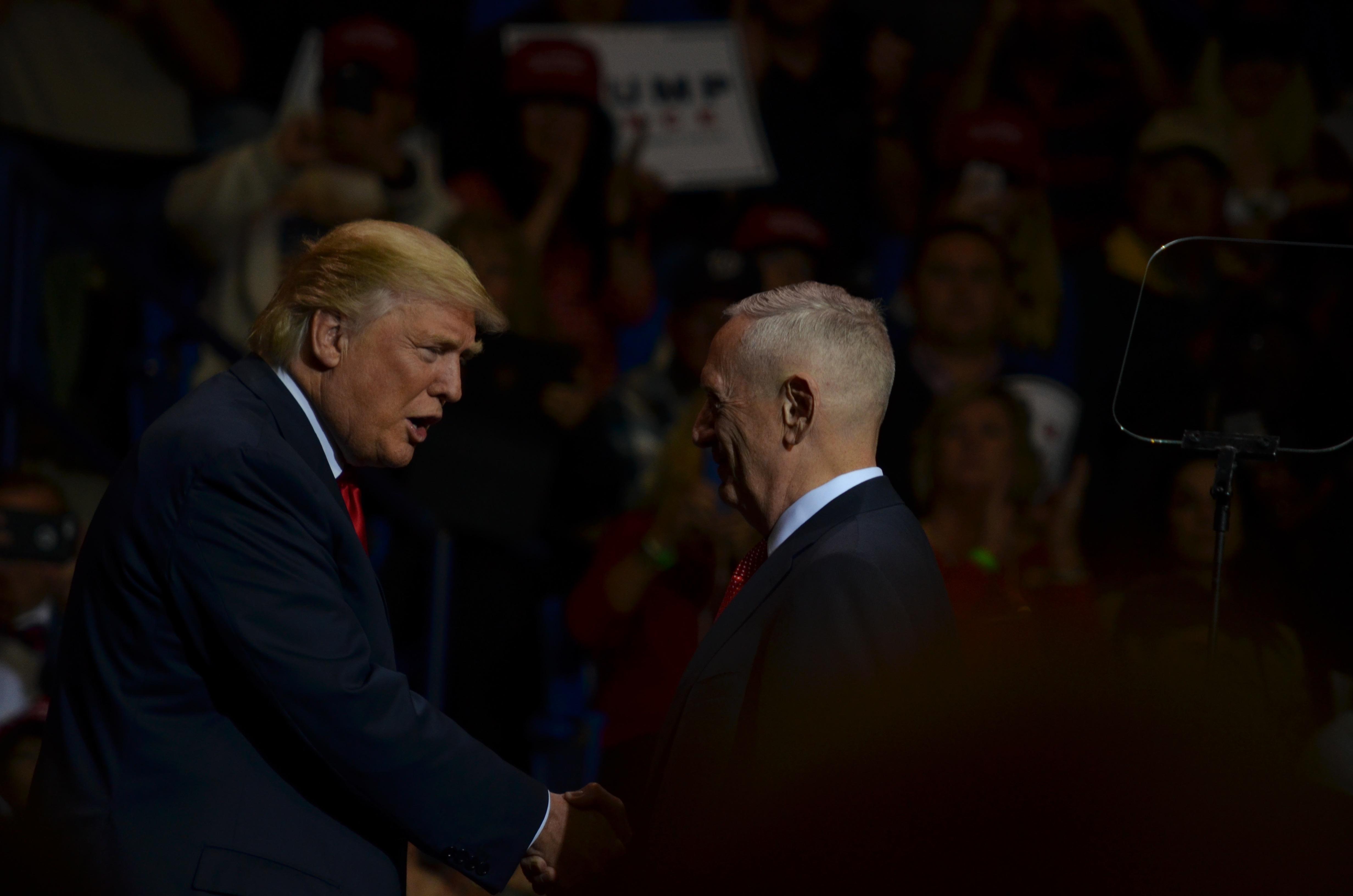 Trump and Mad Dog