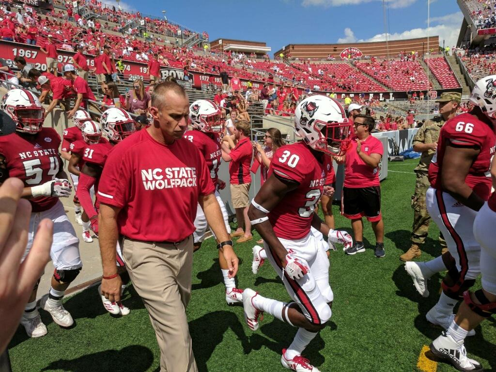Get the latest NC State Wolfpack news scores stats standings rumors and more from ESPN