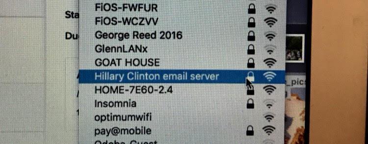 Donald Trump is a fat rapist': UD wifi wars get political