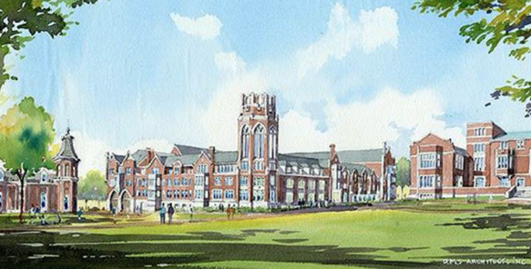 The $115.5 million project will be funded mostly by university reserves and philanthropy