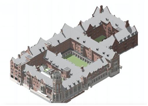 A rendering of the new Vandy Barnard