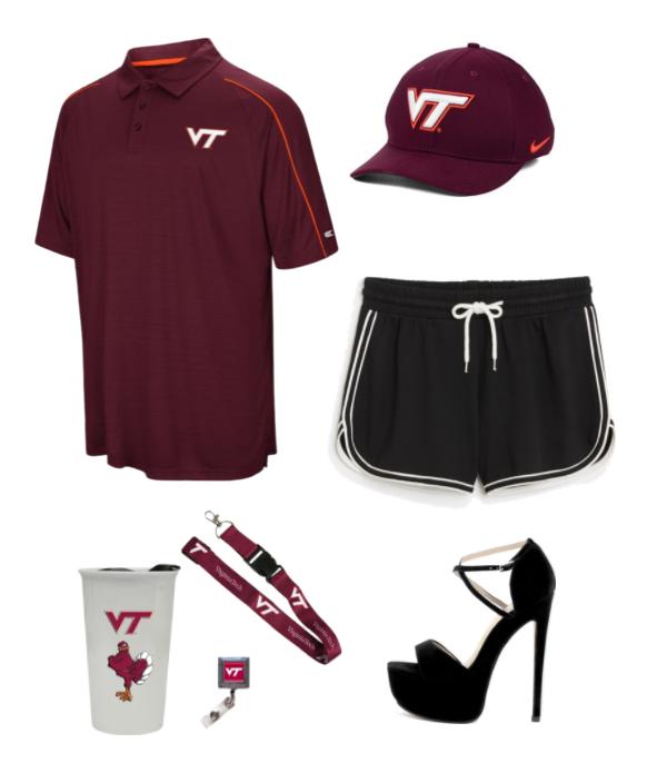 Image may contain: Baseball Cap, Hat, Cap, Shoe, High Heel, Footwear