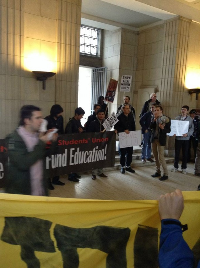 ULU protest 2