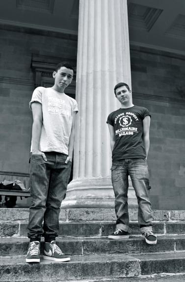 Alex Benjamin (left) and Brendan Dunlop (right)