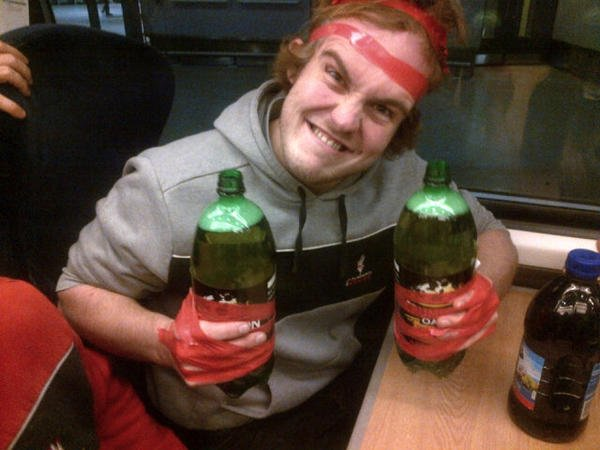 The most ridiculous uni drinking games