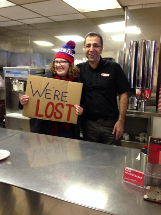 10: 40 Lost Lawyers behind the counter in Wimpy