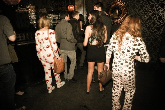 That one time when onesies were totally acceptable