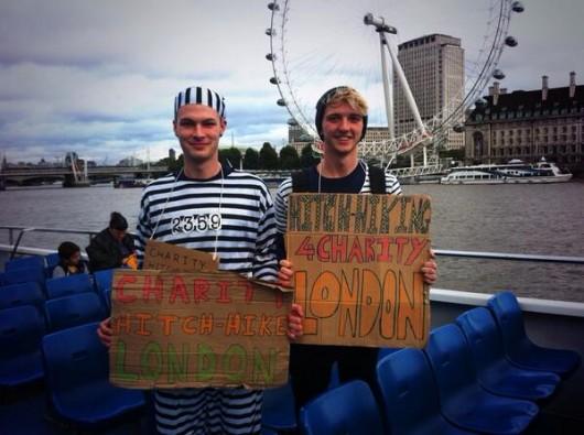 16:46 Jailbirdz taking a scenic hitchhike down the Thames