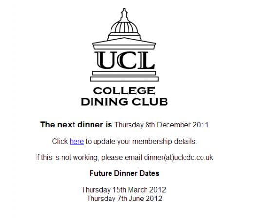 dining club 2