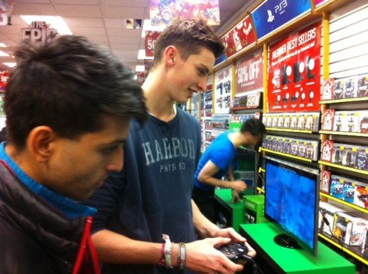 UCL students Max and Hari get stuck into zombie fest Dead Rising 3
