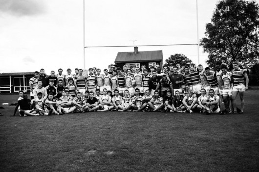 UCLU Men's Rugby Club looking Tall, Slim and Clean.