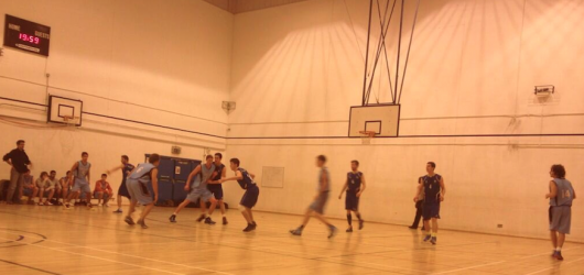 UC Men play in baby blue (photo from @UCLUNetball)