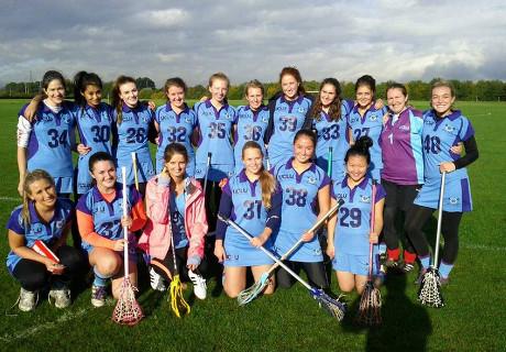 The undefeated UCLU Ladies 1st team.