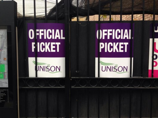 official picket