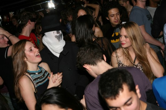 ...when you decided to creep everyone out with the weirdest mask possible. AND ITS NOT EVEN HALLOWEEN.