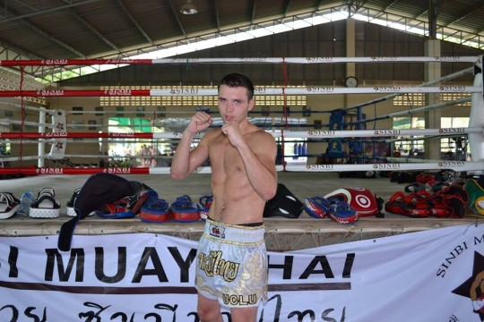 Max training in Thailand over the summer