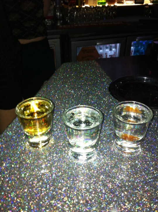 Unlike the dude that stands you up at Bar 55, shots will never let you down.