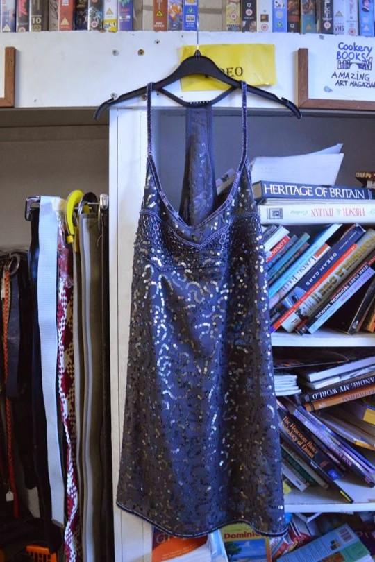 Navy Embellished Evening Dress - £5.00, Mind in Camden