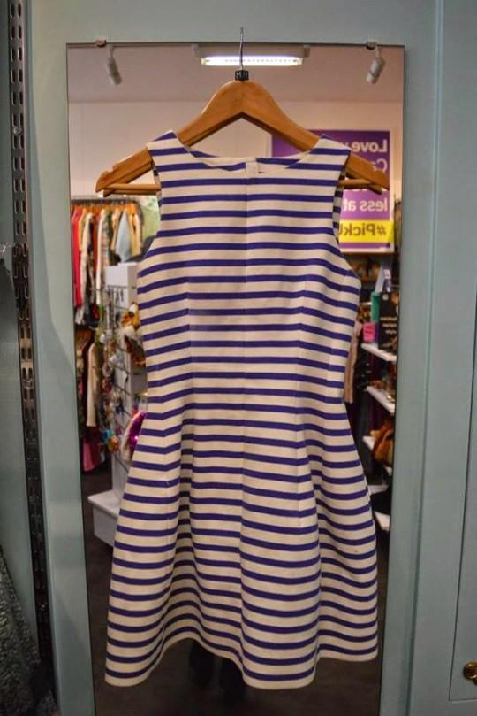 Navy Stripe Dress - £20.10, Scope