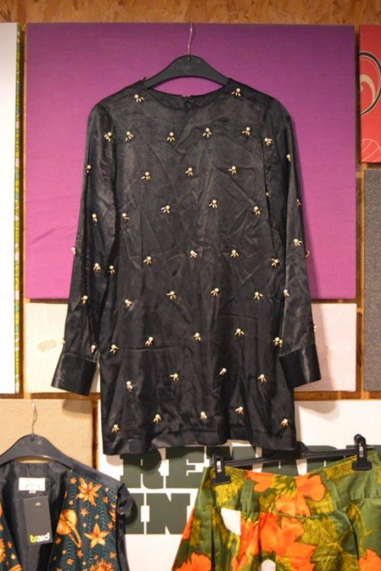 Silk Top with Pearl Embellishment - £8.99, Traid