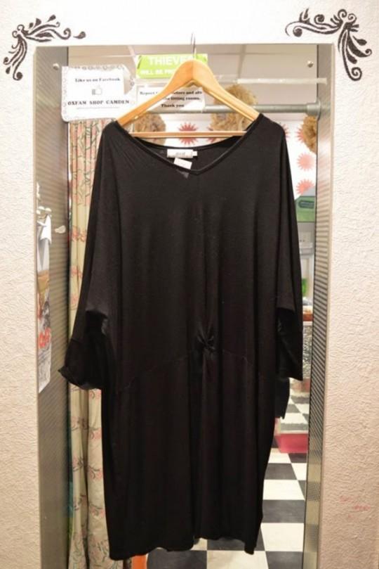 Black Slouch Dress - £9.99
