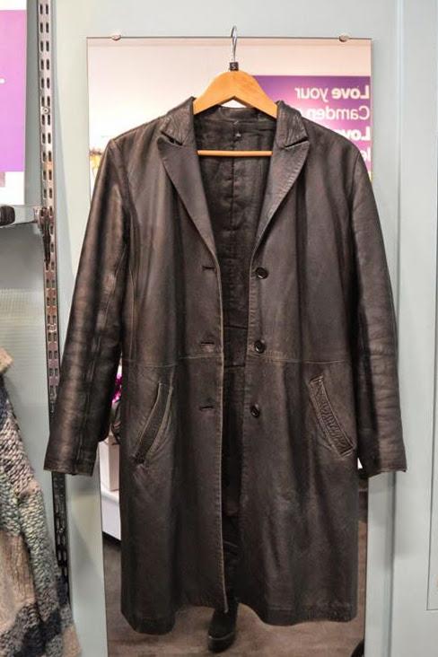 Leather Coat - £15.00, Scope