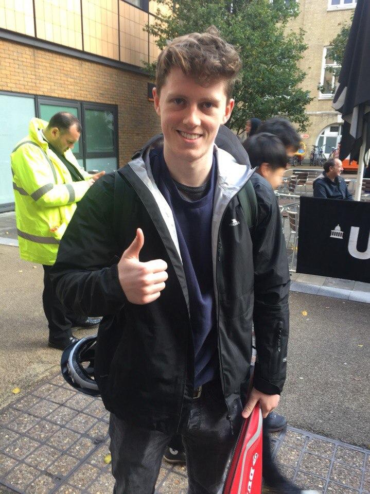 Michael Cartin, Civil Engineering, 1st year - 'Marry Gus Kenworthy'