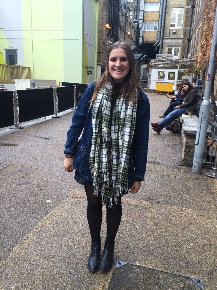 Ruth Belchetz, Geography, 2nd year - 'Free trip around the world'