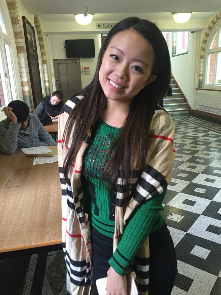 Melody Yuan, Politics and Eastern European Studies, 2nd year - 'Pinch my little brother's cheeks'