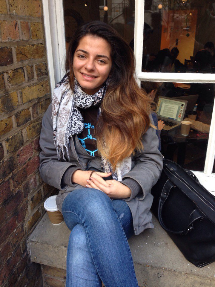 Elaha Naderi, Human Sciences, 3rd year - 'Tickets to travel around the world with a person and an adventure plan waiting for me in every country'