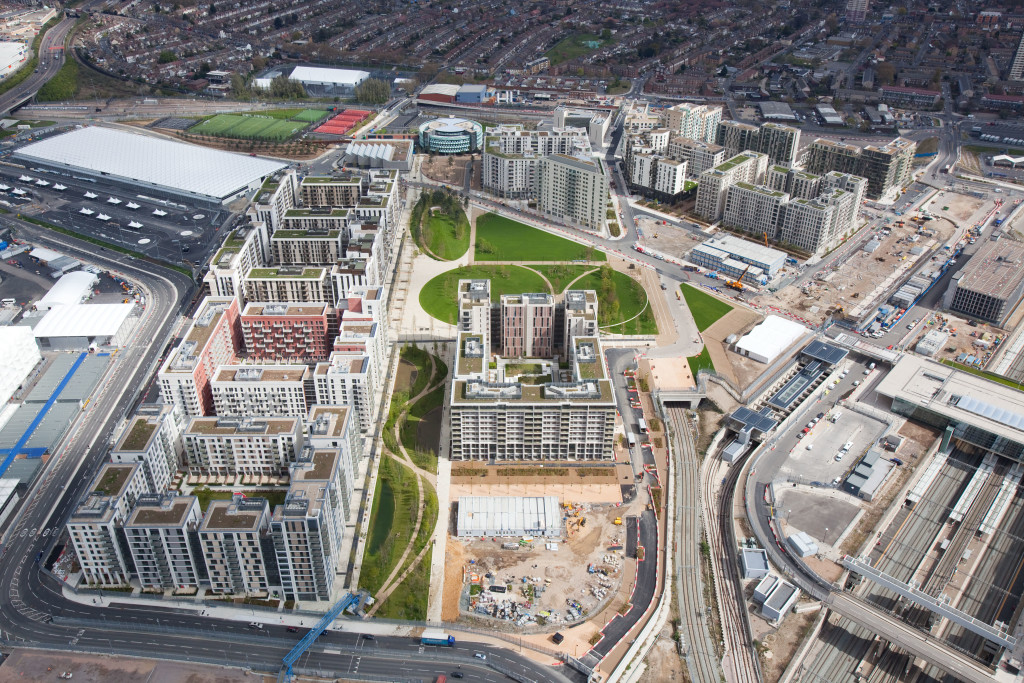 The site of the old Olympic Village will become the new UCL Stratford Campus