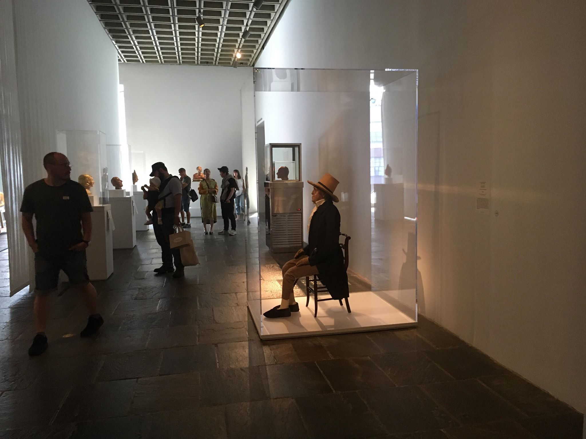 Image may contain: Modern Art, Art, Walkway, Sidewalk, Pavement, Path, Person, People, Human